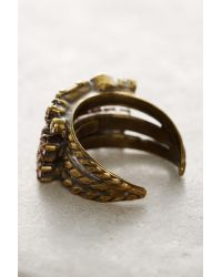Sorrelli | Pink Tri-band Crystal Cocktail Ring | Lyst