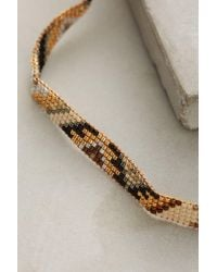 Mishky | Metallic Daybreak Beaded Choker | Lyst