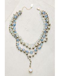 Ela Rae | Blue Layered Trio Necklace | Lyst