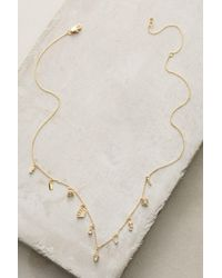 Anthropologie | Yellow Key & Cosmos Layering Necklace | Lyst