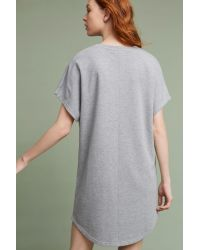 Maeve Gray Wendy Pineapple T-shirt Dress, Grey