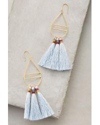 Bluma Project   Blue Kai Tassel Earrings   Lyst