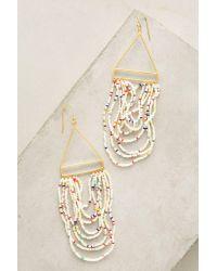 Bluma Project | Metallic Carita Beaded Earrings | Lyst