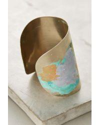 Sibilia | Metallic Springbeam Cuff | Lyst