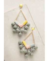 BaubleBar | Metallic Pom-drop Earrings | Lyst
