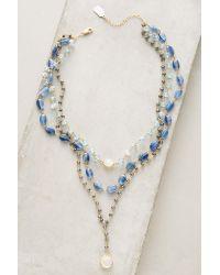 Ela Rae | Blue Yaeli Choker Necklace | Lyst