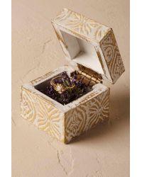 Anthropologie | White Gilded Garden Ring Box | Lyst