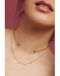 Anthropologie | Pink Cadence Layered Choker Necklace | Lyst