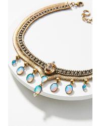 Lionette | Metallic Palermo Collar Necklace | Lyst