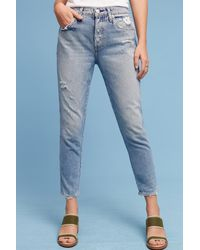 AMO | Blue Ace Mid-rise Relaxed Jeans | Lyst