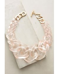 Anthropologie | Multicolor Looped Lucite Necklace | Lyst