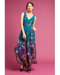 HD In Paris Blue Andalusia Jumpsuit