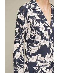 Anthropologie | Blue Elderflower Pyjama Shirt | Lyst