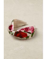 Anthropologie Multicolor Rosita Floral Headband
