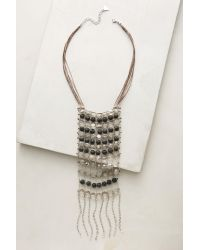 Anthropologie | Multicolor Crystal Rain Necklace | Lyst