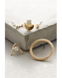 Anthropologie | Metallic Rosalyn Earring Set | Lyst