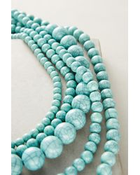 Anthropologie - Green Shakira Layering Necklace - Lyst