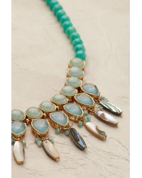 Anthropologie - Multicolor Barcelona Necklace - Lyst