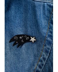 Macon & Lesquoy - Blue Shooting Star Pin Badge - Lyst