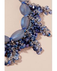 Anthropologie - Blue Coraline Stone Necklace - Lyst