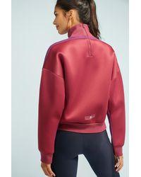 Adidas By Stella McCartney | Red Yoga Sweatshirt | Lyst