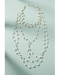 Anthropologie | Blue Imperial Layered Necklace | Lyst
