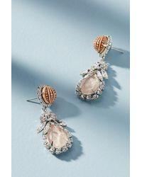 Elizabeth Cole | Blue Suki Drop Earrings | Lyst
