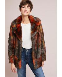Seen, Worn, Kept Black Stevie Faux Fur Coat
