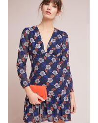 Ella Moss   Blue Vivan Printed Dress   Lyst