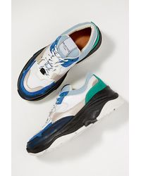 SELECTED Blue X Anthropologie Gavina Trainers
