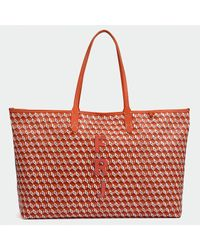 Anya Hindmarch Red I Am A Plastic Bag Tote