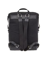 Sandqvist Black Backpack Adam for men