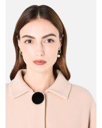 Emporio Armani - Metallic Earring - Lyst