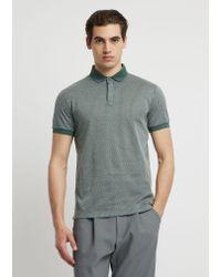 Emporio Armani Green Polo Shirt for men
