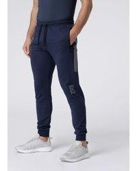 Emporio Armani Pantaloni da Jogging di EA7 in Blue da Uomo