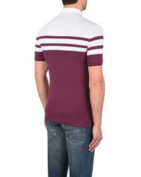 Armani Jeans - Purple Polo Shirt for Men - Lyst