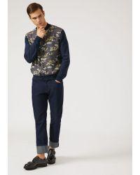 Emporio Armani Blue Regular Jeans for men
