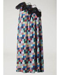 Emporio Armani Blue Dress