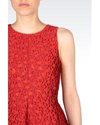 Armani - Blue Short Dress - Lyst