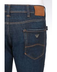 Armani Jeans - Blue J35 Extra Slim Fit Medium Wash Jeans for Men - Lyst