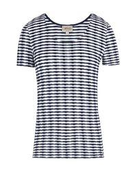 Armani | Blue T-shirt | Lyst
