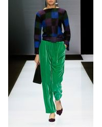 Emporio Armani Multicolor Crewneck Sweater