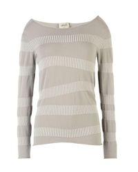 Armani | Gray Crewneck Sweater | Lyst