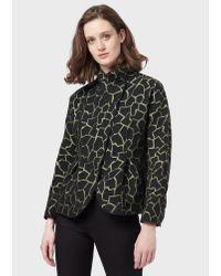 Emporio Armani Black Blouson Jacket