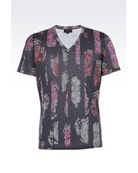 Emporio Armani | Multicolor Short-sleeve T-shirt for Men | Lyst