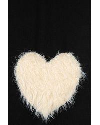 Armani Jeans - Black Knit Scarf - Lyst