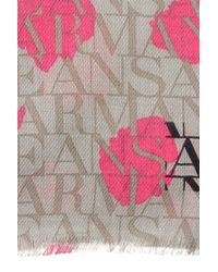 Armani Jeans - Gray Scarf - Lyst