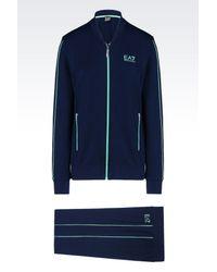 EA7 | Blue Sweatsuit | Lyst