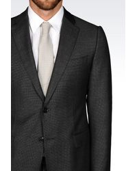 Armani - Gray Two Button Suit for Men - Lyst