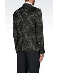 Emporio Armani Black Jacket for men